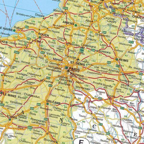 Mapa drogowa europy
